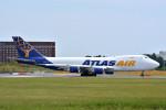 トロピカルさんが、成田国際空港で撮影したアトラス航空 747-47UF/SCDの航空フォト(写真)