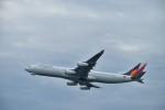 金魚さんが、関西国際空港で撮影したフィリピン航空 A340-313Xの航空フォト(写真)