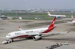 ハピネスさんが、羽田空港で撮影した上海航空 A330-343Xの航空フォト(写真)