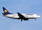 voyagerさんが、フランクフルト国際空港で撮影したルフトハンザドイツ航空 737-530の航空フォト(写真)
