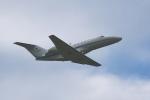 撮り撮り人さんが、岡山空港で撮影したアルペン 525A Citation CJ2の航空フォト(写真)