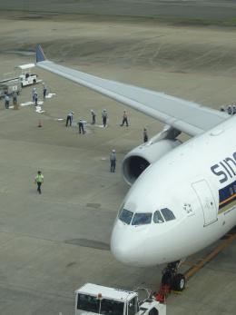 muutiimarsanさんが、福岡空港で撮影したシンガポール航空 A330-343Eの航空フォト(写真)