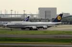 shibu03さんが、羽田空港で撮影したルフトハンザドイツ航空 747-830の航空フォト(写真)
