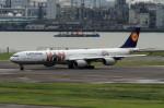 shibu03さんが、羽田空港で撮影したルフトハンザドイツ航空 A340-642Xの航空フォト(写真)