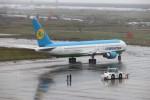 まっさんさんが、仙台空港で撮影したウズベキスタン航空 767-33P/ERの航空フォト(写真)
