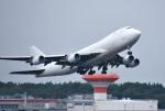 mojioさんが、成田国際空港で撮影したウィルミントン・トラスト・カンパニー 747-4KZF/SCDの航空フォト(写真)