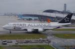 SSB46(旧YW)さんが、関西国際空港で撮影したタイ国際航空 747-4D7の航空フォト(写真)