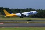 ☆ライダーさんが、成田国際空港で撮影したポーラーエアカーゴ 767-3JHF(ER)の航空フォト(写真)
