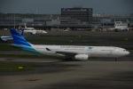 よしポンさんが、羽田空港で撮影したガルーダ・インドネシア航空 A330-343Xの航空フォト(写真)