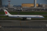 よしポンさんが、羽田空港で撮影した中国国際航空 A330-343Xの航空フォト(写真)