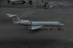 よしポンさんが、羽田空港で撮影したジェット・アビエーション・ビジネス・ジェット G500/G550 (G-V)の航空フォト(写真)