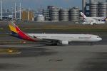 よしポンさんが、羽田空港で撮影したアシアナ航空 A330-323Xの航空フォト(写真)