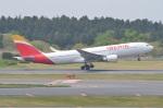 amagoさんが、成田国際空港で撮影したイベリア航空 A330-202の航空フォト(写真)