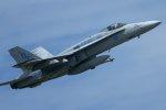 isiさんが、厚木飛行場で撮影したアメリカ海軍 F/A-18C Hornetの航空フォト(写真)