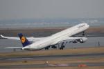 MA~RUさんが、羽田空港で撮影したルフトハンザドイツ航空 A340-642Xの航空フォト(写真)