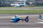 T.Sazenさんが、名古屋飛行場で撮影した中日新聞社 EC135P2の航空フォト(写真)