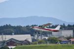 ja0hleさんが、名古屋飛行場で撮影した富士航空 172P Skyhawkの航空フォト(写真)
