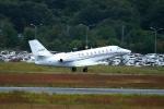 撮り撮り人さんが、岡山空港で撮影したノエビア 680 Citation Sovereignの航空フォト(写真)
