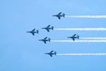 ひろかずさんが、静浜飛行場で撮影した航空自衛隊 T-4の航空フォト(写真)