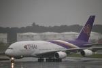 たかきさんが、成田国際空港で撮影したタイ国際航空 A380-841の航空フォト(写真)