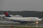 たかきさんが、成田国際空港で撮影したデルタ航空 747-451の航空フォト(写真)