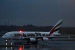 たかきさんが、成田国際空港で撮影したエミレーツ航空 A380-861の航空フォト(写真)