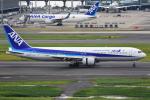 ななにさんが、羽田空港で撮影した全日空 767-381の航空フォト(写真)