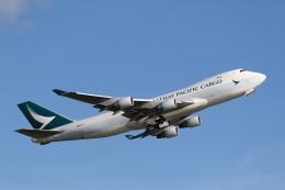 sky-spotterさんが、香港国際空港で撮影したキャセイパシフィック航空 747-467F/ER/SCDの航空フォト(写真)