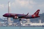 sky-spotterさんが、香港国際空港で撮影したエアアジア A320-251Nの航空フォト(写真)