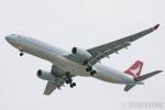 遠森一郎さんが、福岡空港で撮影したキャセイドラゴン A330-342Xの航空フォト(写真)