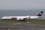 sky-spotterさんが、羽田空港で撮影したルフトハンザドイツ航空 A340-642Xの航空フォト(写真)