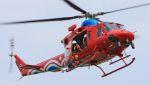 C.Hiranoさんが、笠岡ふれあい空港で撮影した岡山県消防防災航空隊 412EPの航空フォト(写真)