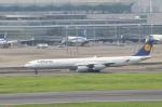 Falconerさんが、羽田空港で撮影したルフトハンザドイツ航空 A340-642の航空フォト(写真)