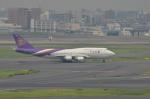 Falconerさんが、羽田空港で撮影したタイ国際航空 747-4D7の航空フォト(写真)