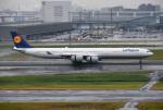 mojioさんが、羽田空港で撮影したルフトハンザドイツ航空 A340-642Xの航空フォト(写真)