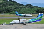 kiraboshi787さんが、長崎空港で撮影したオリエンタルエアブリッジ DHC-8-201Q Dash 8の航空フォト(写真)