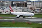 kiraboshi787さんが、福岡空港で撮影したキャセイドラゴン A330-343Xの航空フォト(写真)