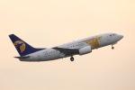 y-dynastyさんが、成田国際空港で撮影したMIATモンゴル航空 737-71Mの航空フォト(写真)