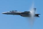Tomo-Papaさんが、オシアナ海軍航空基地アポロソーセックフィールドで撮影したアメリカ海軍 F/A-18F Super Hornetの航空フォト(写真)
