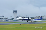 Taishinさんが、熊本空港で撮影したANAウイングス DHC-8-402Q Dash 8の航空フォト(写真)