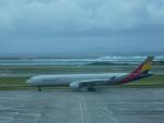 SuneKumaさんが、那覇空港で撮影したアシアナ航空 A330-323Xの航空フォト(写真)