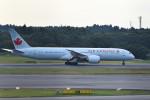 平手 孝徳さんが、成田国際空港で撮影したエア・カナダ 787-9の航空フォト(写真)