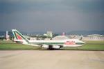 tokadaさんが、名古屋飛行場で撮影したアリタリア航空 747-243B(SF)の航空フォト(写真)