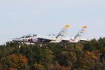 元青森人さんが、千歳基地で撮影した航空自衛隊 T-4の航空フォト(写真)