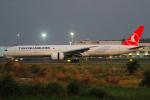 KIMISTONERさんが、台湾桃園国際空港で撮影したターキッシュ・エアラインズ 777-3F2/ERの航空フォト(写真)