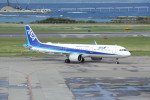 utarou on NRTさんが、那覇空港で撮影した全日空 A321-272Nの航空フォト(写真)