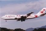 NH642さんが、福岡空港で撮影したJALウェイズ 747-246Bの航空フォト(写真)