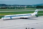 NH642さんが、チューリッヒ空港で撮影したフィンエアー MD-82 (DC-9-82)の航空フォト(写真)