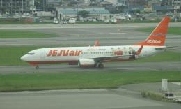 commet7575さんが、福岡空港で撮影したチェジュ航空 737-8ASの航空フォト(写真)