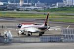T.Sazenさんが、名古屋飛行場で撮影した三菱航空機 MRJ90STDの航空フォト(写真)